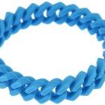 Kettenworld Unisex Armband 18.0 cm blau 334610 B00FPG1300