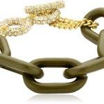 Sweet Deluxe Damen-Armband Kayla gold/grün Messing 1817 B00D3IKAO2