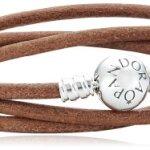 Pandora Damen-Armband 925 Sterling Silber dreifach Länge 52 cm 590714CBN-T1 B00D1D152U