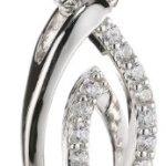 Amor Jewelry Damen-Halskette 925 Sterling Silber 451499 B00EQ0HZK8