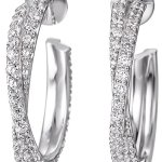 Joop! Damen-Ohrhänger 925 Sterling Silber mit Anhänger JPER90232C000 B009XUAU80