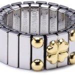 Nomination Damen-Ring Mittel Mit 1 Symbol Glucksklee Ring größe variabel 040020/004 B0050C8MPS