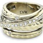 Dyrberg/Kern Damen-Ring WENDOLYN SG CRYSTAL B00GWI1MTC