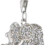 s.Oliver Damen-Charm 925 Sterling Silber Elefant Zirkonia synth. Länge ca. 14 mm 398602 B007BKA1PQ