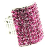 Sweet Deluxe Damen-Ring Messing sweet deluxe Damen Strechring Barock 6 silber/rose/fuchsia 02769 Gr. 2769 B00EDL4C7E
