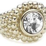 Dyrberg/Kern Damen-Ring Erta Sg Crystal 33213 B0088Z0ACW