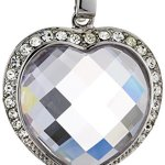Celesta – Charm – Anhänger mit Clipverschluß aus 925er Sterling Silber und einen Herz Zirkonia und 42 Kristallen 360240833-1 B003CRE0E0