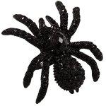 """SIX """"Halloween"""" schwarzer Spinnen Ring mit Strasssteinen (388-200) B00NTWZFPG"""