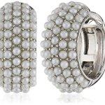 Joop Damen-Ohrclips 925 Sterling Silber rhodiniert Kunststoff Perlmutt Diane weiß JPCO90145A000 B00764MIT4