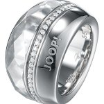 Joop Damen-Ring 925 Sterling Silber rhodiniert Kristall Zirkonia Ring weiß Gr.53 (16.9) JPRG90341B530 B00IU9RVW8