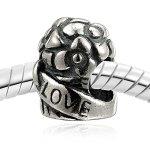 """Original O.R.® OldRubin Qualität Schmuck für sie mit Ansprüchen! Geschmiedet um Ihre Einzigartigkeit zu unterstreichen! Aus unserer Serie """"Liebe küsst feinstes Silber"""" – Feinste Silber (925) Beads- inkl. hochwertiges Schmucketui! – ohne Kette! B00HY60QHA"""