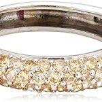 Celesta Damen-Ring 925 Sterling Silber Zirkonia champagner W: 273270545L-6 B008MUFV40
