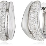 Celesta – Damenklappcreole aus 925er Sterling Silber und 74 weißen Zirkonia 16mm Durchmesser 368210001L B003CRC8YE