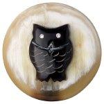 Pilgrim Jewelry Damen-Anhänger Messing Kristall Coin 3.0 cm weiß 441345505 B00G2A3A9A