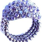 Sweet Deluxe Stretchring Victoria – Farbe: tanzanite B00HR8WJPM