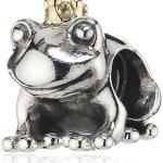 Pandora Damen-Bead 925 Sterling Silber Frosch 791118 B00BF6R3WG