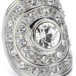 Dyrberg/Kern Damen-Ring Mina II Ss Crystal 331881 B005GCWEHO