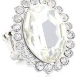 Sweet Deluxe Damen-Ring Messing sweet deluxe Damen Stretchring Barock silber/kristall 02759 Gr. 2759 B00EDL3OOQ