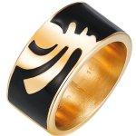 Pierre Cardin Unisex-Ring 925 Sterling Silber Edelstahl rhodiniert Kunststoff Totem  PCRG10008C B00H4WT6LQ
