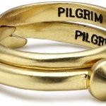 Pilgrim Jewelry Damen-Ring aus der Serie No limits vergoldet verstellbar 0.7 cm 211232004 B008RTVP1O