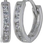 Amor Jewelry Damen-Creolen 925 Sterling Silber 381734 B00EQ0FTE2