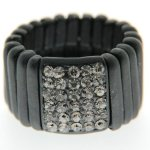 Sweet Deluxe Damen-Ring Messing sweet deluxe Damen Strechring Barock 4 silber/bl.diamond 02764 Gr. 2764 B00EDL3X7Y