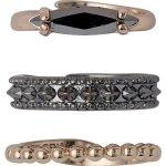 Pilgrim Jewelry Damen-Ring Messing Pilgrim Damen-Ring aus der Serie Classic roségold beschichtet,0  1.5 cm 601334004 B00ESBVVDC