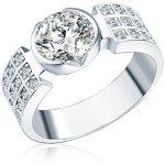 Rafaela Donata Ring Sterling Silber Zirkonia weiß B002SG7GDS