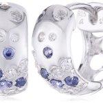 s.Oliver Damen-Ohrstecker 925 Sterling Silber 12 mm mehrfarbig 442695 B00B3P54FM