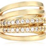 Mike Ellis New York Damen-Ring Edelstahl Zirkonia weiß Gr.52 (16.6) D1519C/3 B00ICFYZEW
