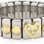 Nomination Damen-Ring Klein Mit Herz Ring größe variabel 040201/006 B0050C8U8W