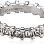 Dyrberg/Kern Damen-Ring Edelstahl Gafa II ss crystal 334424 B00GWHWZX0