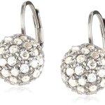 Celesta – Damenohrhänger Kugel aus 925er Sterling Silber und 90 weißen Zirkonias 273230086L B003CRE068