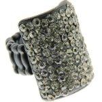 Sweet Deluxe Damen-Ring Messing sweet deluxe Damen Strechring Barock 6 black/bl.diamond 02768 Gr. 2768 B00EDL4BVQ