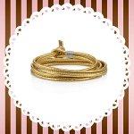 NominatioN BON BON Armband aus Leder und Stahl (LANG) (Gold) 065089-016 B00GUKQ6HK