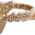 """Guess Stretch-Ring """"Guess""""-Schriftzug gold UBR21202 B007VTGDZO"""