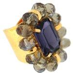 Sweet Deluxe Damen-Ring Accursia silber/lila/grau 00938 B007FD2C7O