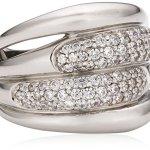 Celesta – Damenring aus 925er Sterling Silber mit 81 weißen Zirkonias W.:54 368270007L-054 B003CRDZSM