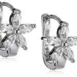 Amor Jewelry Damen-Creolen 925 Sterling Silber 390606 B00EQ0FX9S