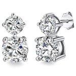 Rafaela Donata Glossy Collection Damen-Ohrstecker mit original Swarovski Elements Crystal  60836039 B00BFQ78LC