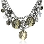 Dyrberg/Kern Damen-Halsband Versilbertes Metall 335550 B00HEYADYS