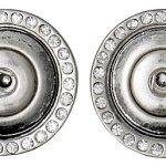 Pilgrim Jewelry Damen-Ohrstecker Messing aus der Serie Snap versilbert, 1.8 cm 431329003 B00CMO68JY
