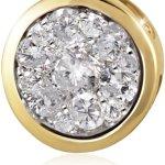 Goldmaid Anhänger Glamour 585 Gelbgold 13 Brillanten 0,33 ct. Pa A5733GG B0083FBWTM