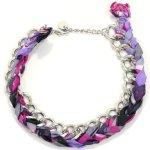 Joop JPNL20493E430 Damen Collier Halskette Summer Special Tuch bunt pink B0055YQYOW
