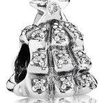 Pandora Damen-Charm Weihnachtsbaum 925 Sterling Silber Moments 791239CZ B00GOXFYSK