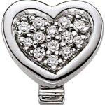 Viventy Damen-Anhänger 925 Sterling Silber NA 13 Zirkonia weiß 765692 B00FAHYCJI