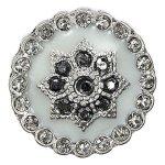 Pilgrim Damen-Anhänger aus der Serie Charming Versilbert Mint 42122-6011 B007UXEC4U