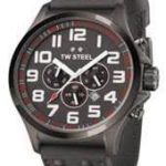 TW Steel Herren-Armbanduhr XL Pilot Chronograph Quarz Leder TW-423 B00D99KVIU