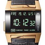 Junghans Mega 1000 Funk-Alarm-Chronograph 026/7302.00 B00KH5R4T8
