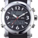 MC Timetrend Herren-Armbanduhr Analog – Digital Quarz Kunststoffband 26341 B0051NC3VA